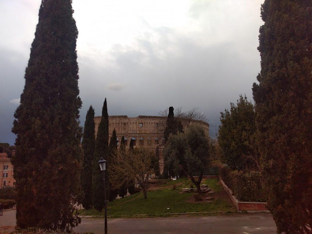La última foto del Coliseo + drama